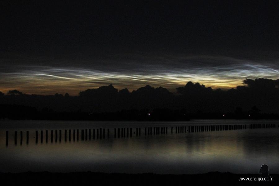 lichtende nachtwolken juli 2008 - 3