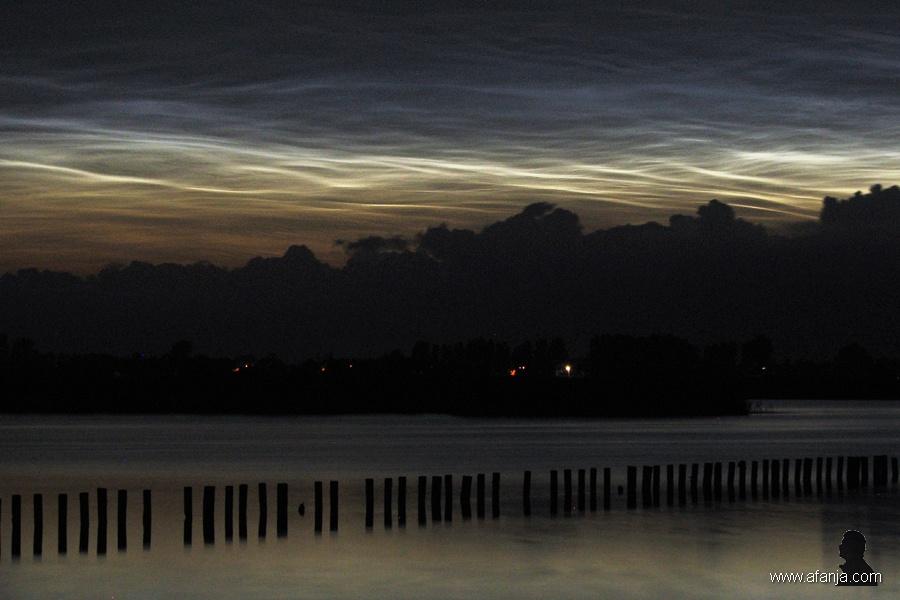 lichtende nachtwolken juli 2008 - 1
