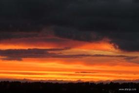 wolken bij zonsondergang - 2
