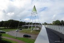 fietsbrug 'de Slinger' - 9 - bike bridge 'the Garland'