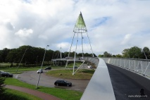 fietsbrug 'de Slinger' - 9 - bike bridge 'the Garland'