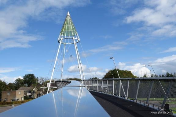 fietsbrug 'de Slinger' - 1 - bike bridge 'the Garland'