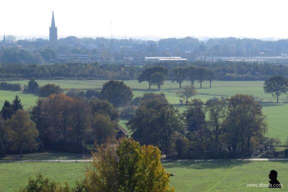 op de Woldberg (9) - Steenwijk komt in zicht