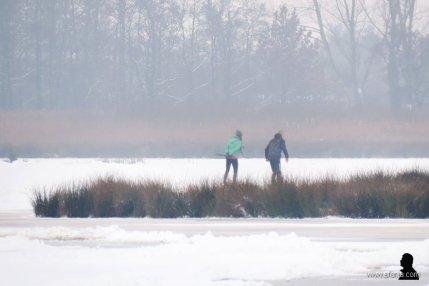 schaatsers in de Jan Durkspolder 7
