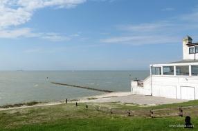 4. zicht op het IJsselmeer