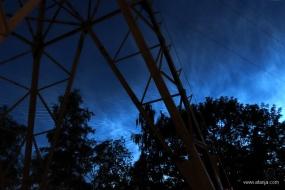 2. lichtende nachtwolken - NLC's