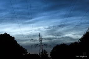 5. lichtende nachtwolken - NLC's