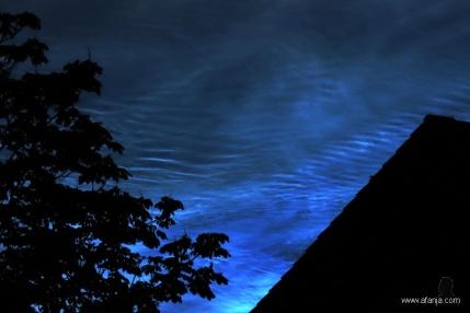 8. lichtende nachtwolken - NLC's